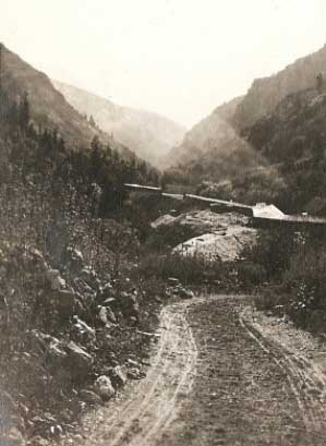 Early Big Cottonwood Road